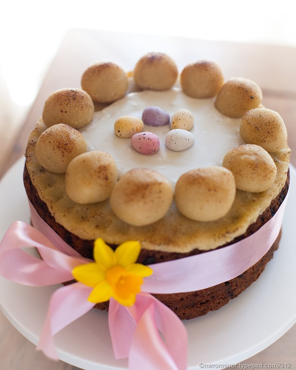 The Best Easter Simnel Cake - mirror mirror