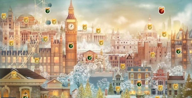 Christmas Tree Advent Calendars