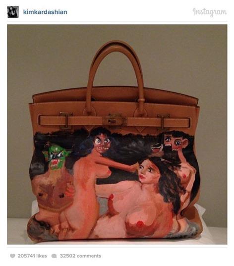 Kim Kardashian's Handbag