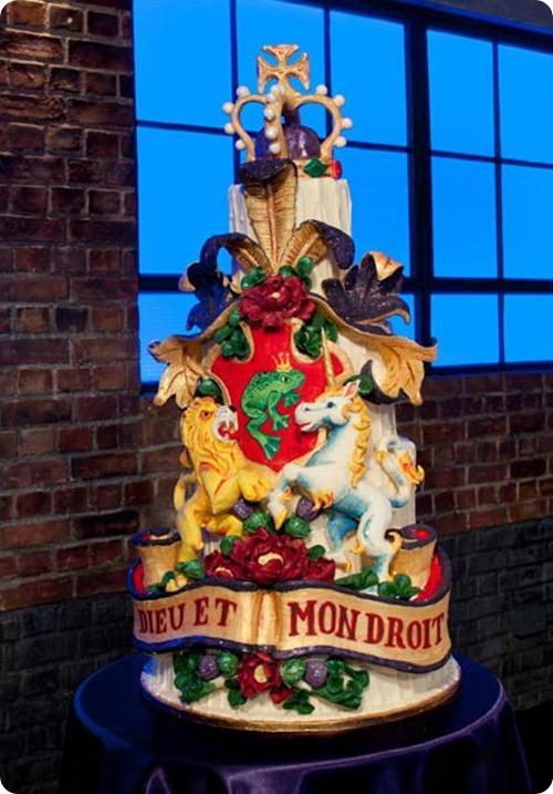 Choccywoccydoodah Royal Wedding Cake