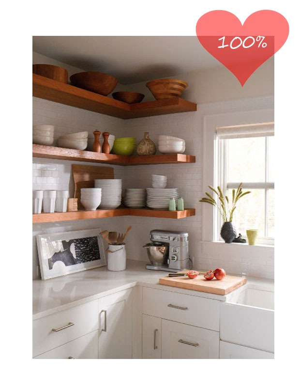 Open Shelf Kitchen: Open Kitchen Shelves