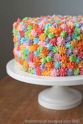Easy Cake Decorating Idea Mirror Mirror