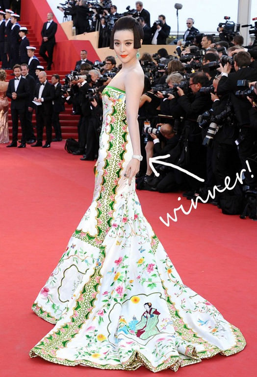 Fan Bingbing At Cannes Mirror Mirror