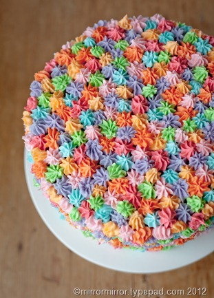 Quick Easy Cake Decorating Tips : Easy Cake Decorating Idea - mirror mirror