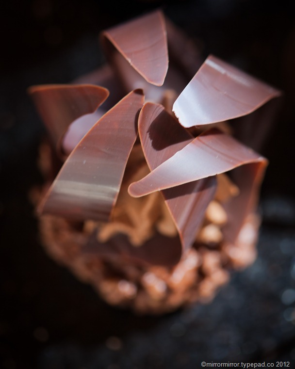 chocolate flower cake-3546