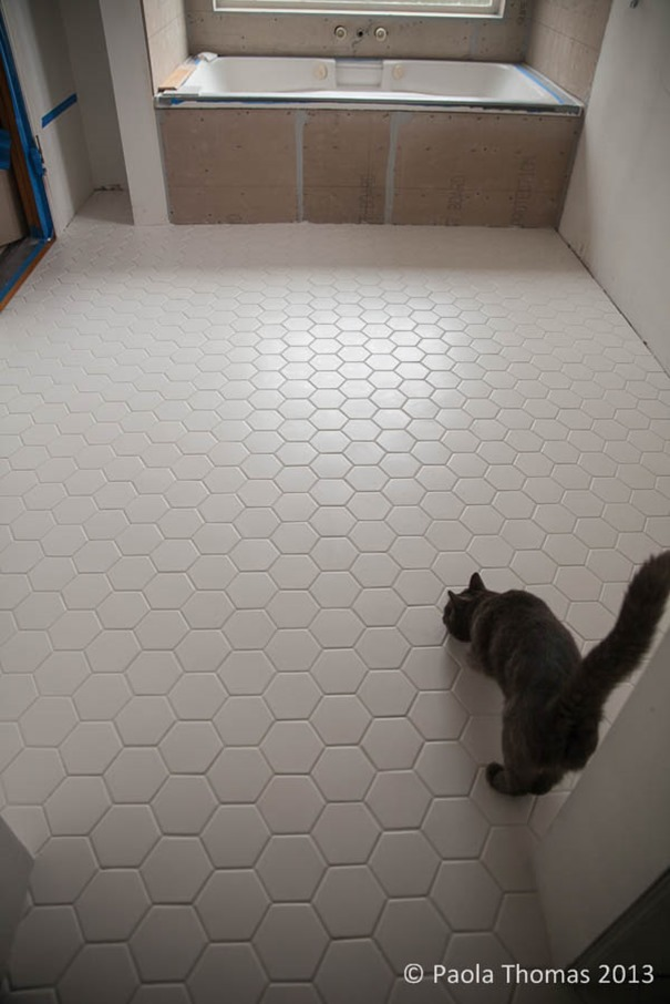 Hexagon Tiles - 10 inch hexagon tile