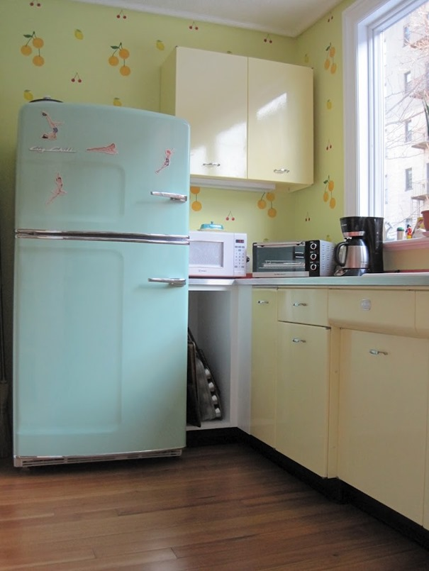 the big kitchen remodel buying a retro fridge