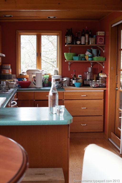 A new year a new kitchen - Burnt orange kitchen walls ...