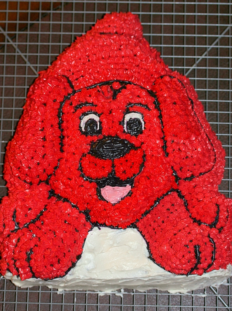 Clifford Cake Images