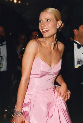 "As part of the festivities in the run-up to this year's Oscar telecast, Laura Ziskin, 79th Annual Academy Awards® producer, has announced ""A Celebration of Oscar Fashion"" – a live event in the Academy's Grand Lobby presenting a unique retrospective of Oscar fashion. Pictured here in one of the dresses displayed: Gwyneth Paltrow in Ralph Lauren at the 71st Academy Awards® on March 21, 1999."
