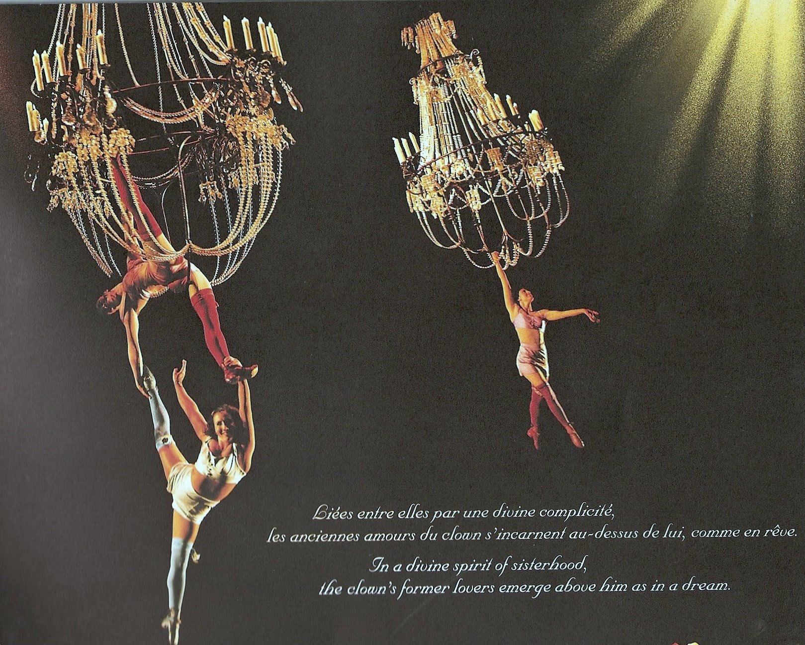 Cirque du soleil corteo mirror mirror we saw ladies of the night spinning and swinging from sparkly chandeliers which delighted the interior design obsessed part of my soul kids bouncing on arubaitofo Choice Image